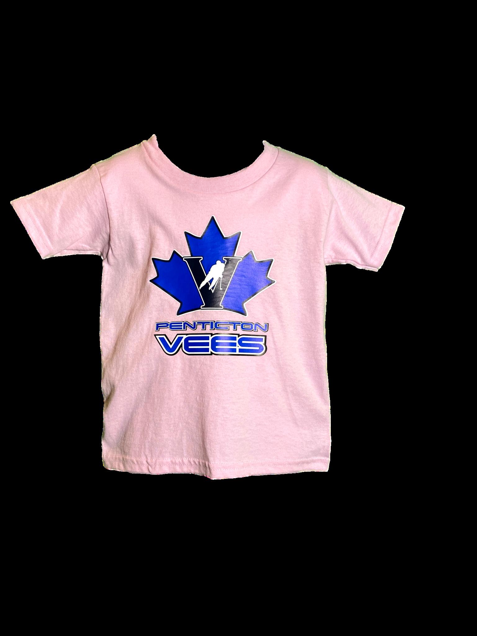 Gilden Vees Toddler T Shirt- Pink