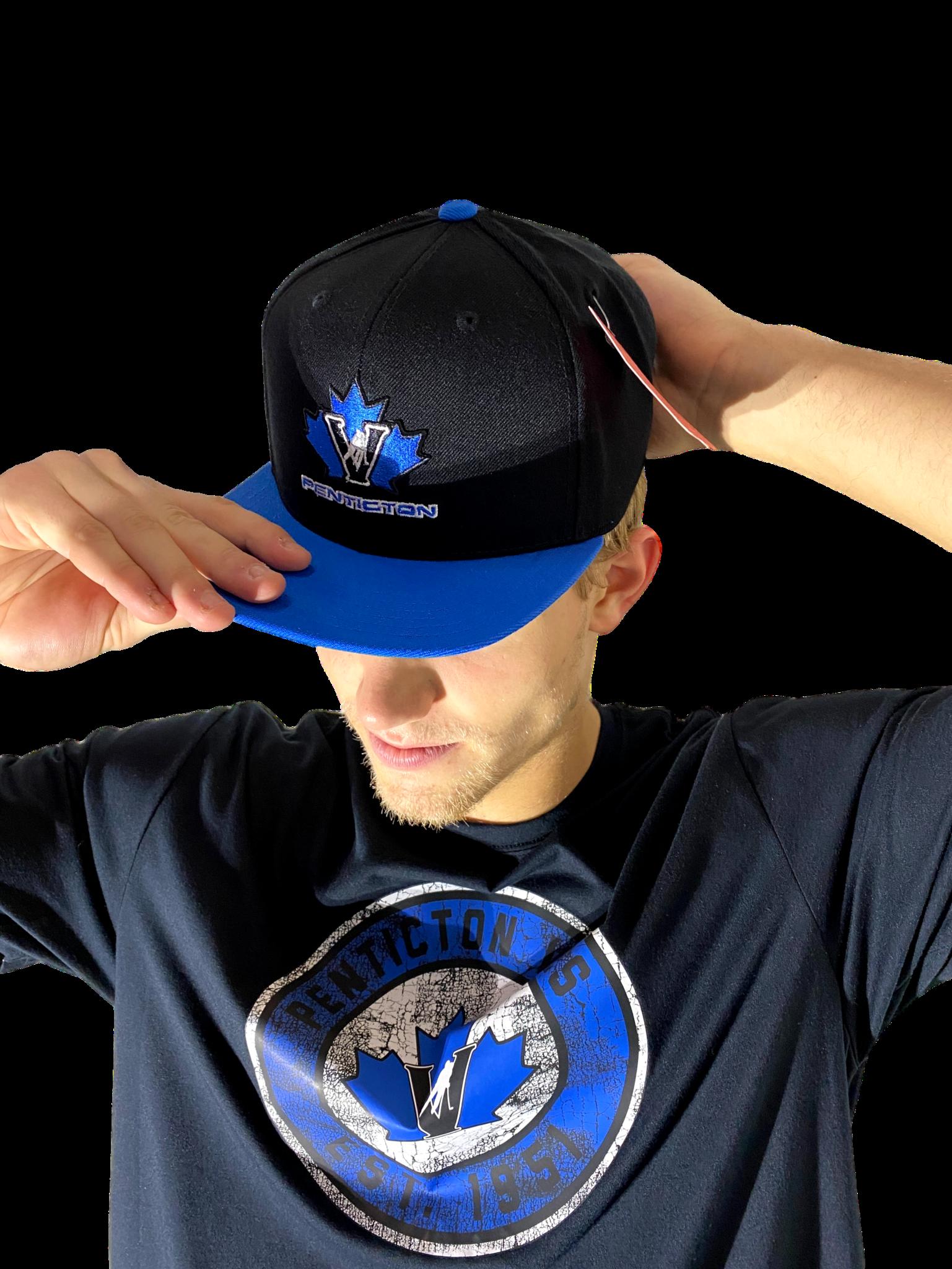 American Needle Vees Flat Brim Hat 400 Series