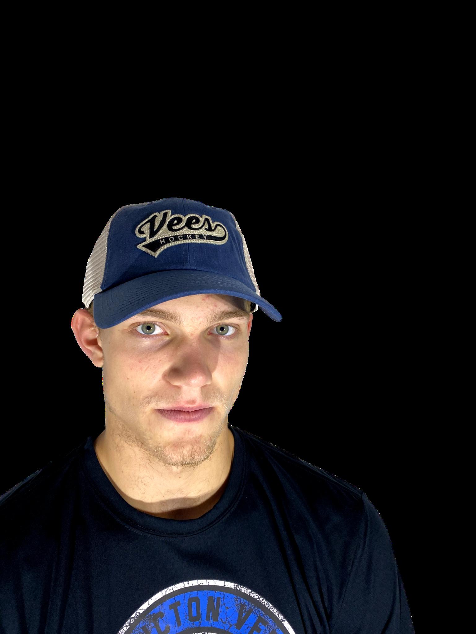 American Needle Penticton Vees Ball Hat Waxed Bones