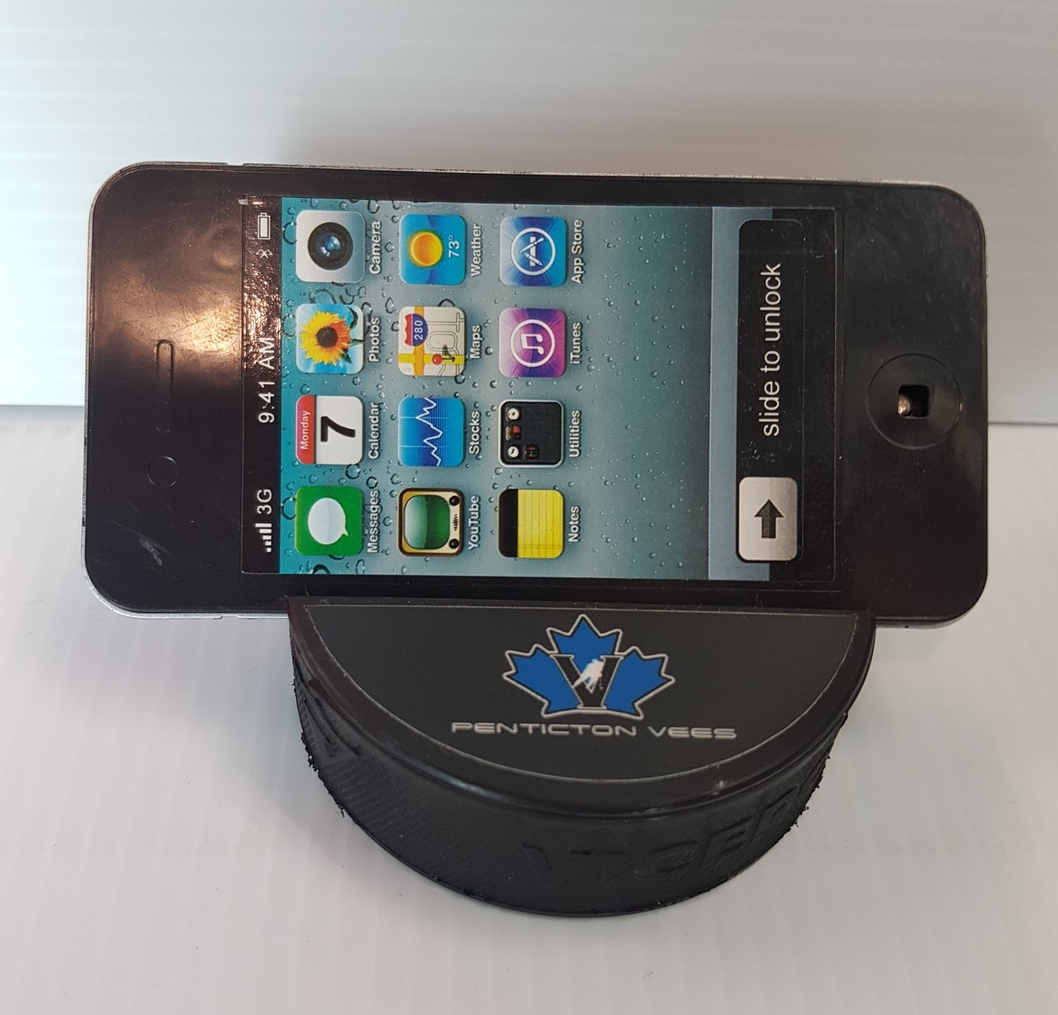 Vees Hockey Puck Phone/Tablet Holder