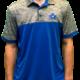 Levelwear Penticton Vees Mens Golf Shirt Blue Grey