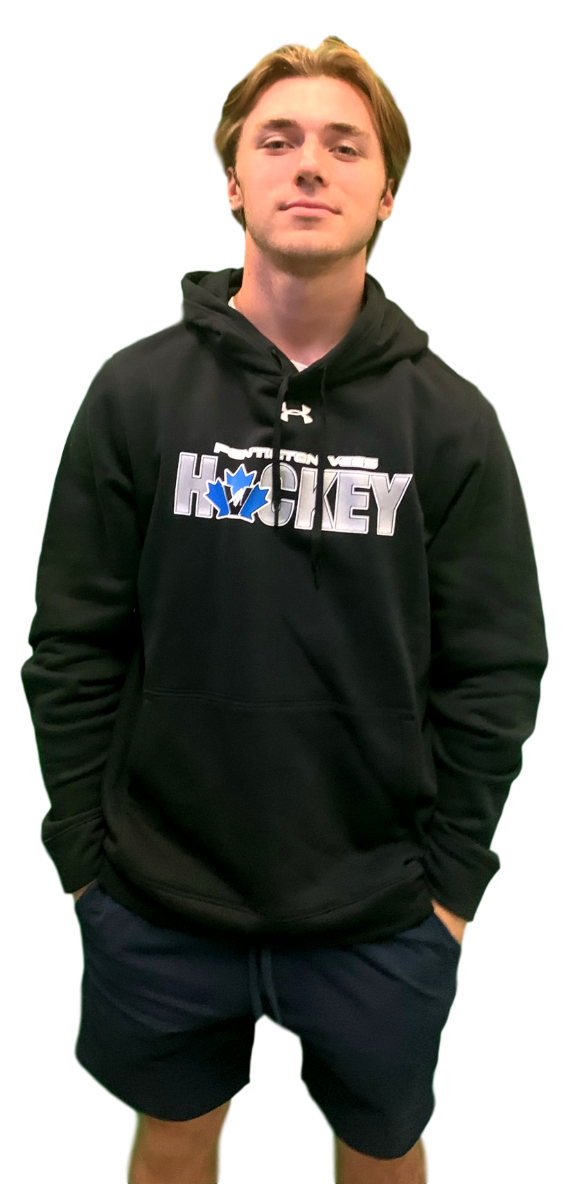 Under Armour Under Armour Mens Black Hoodie