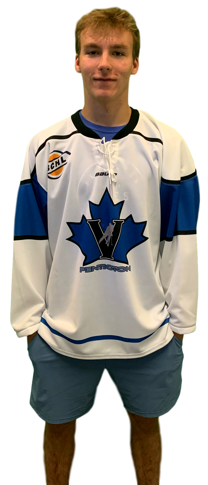 Bauer Penticton Vees Bauer Replica Jersey White