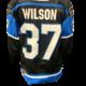 Bauer Penticton Vees Wilson Game Worn Jersey - Team Signed