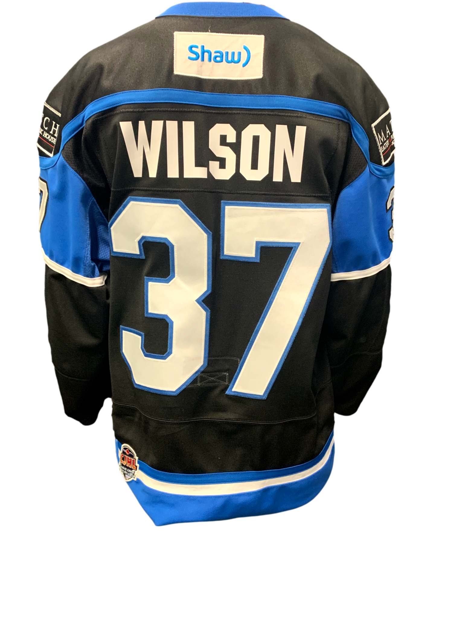 Bauer Wilson Game Worn Jersey - teamed signed