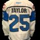 Bauer Taylor Game Worn Jersey -team signed