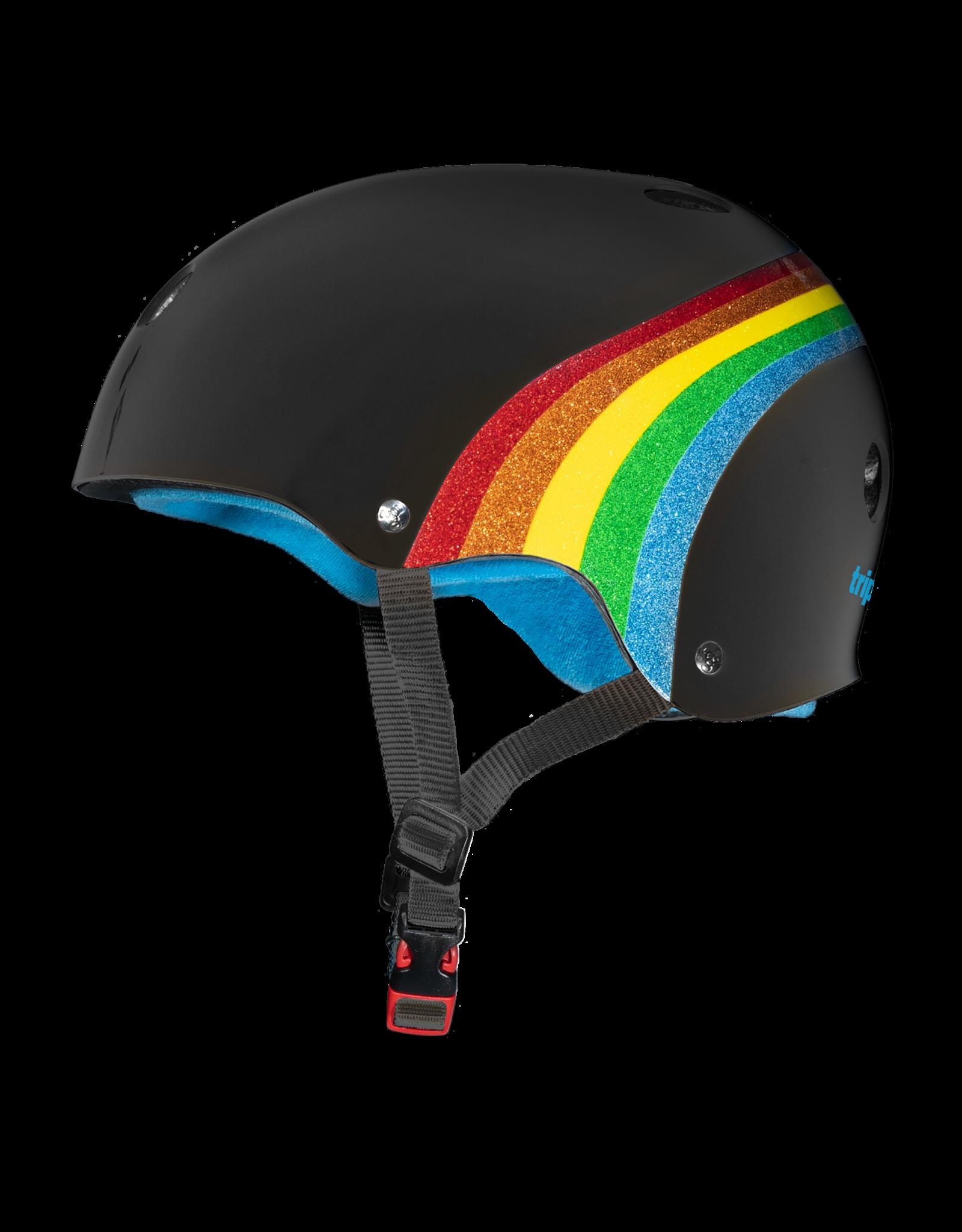 Triple 8 Triple 8 Rainbow Glitter helmet