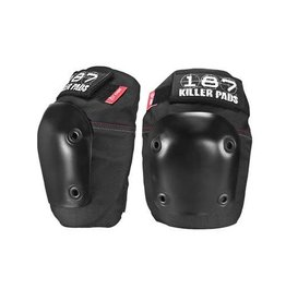 187 Killer Pads 187 Fly Knee Pads, Black