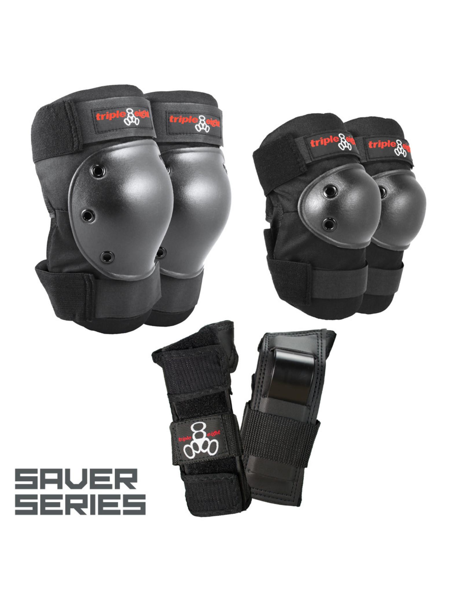 Triple 8 Triple 8 Saver 3 pack black