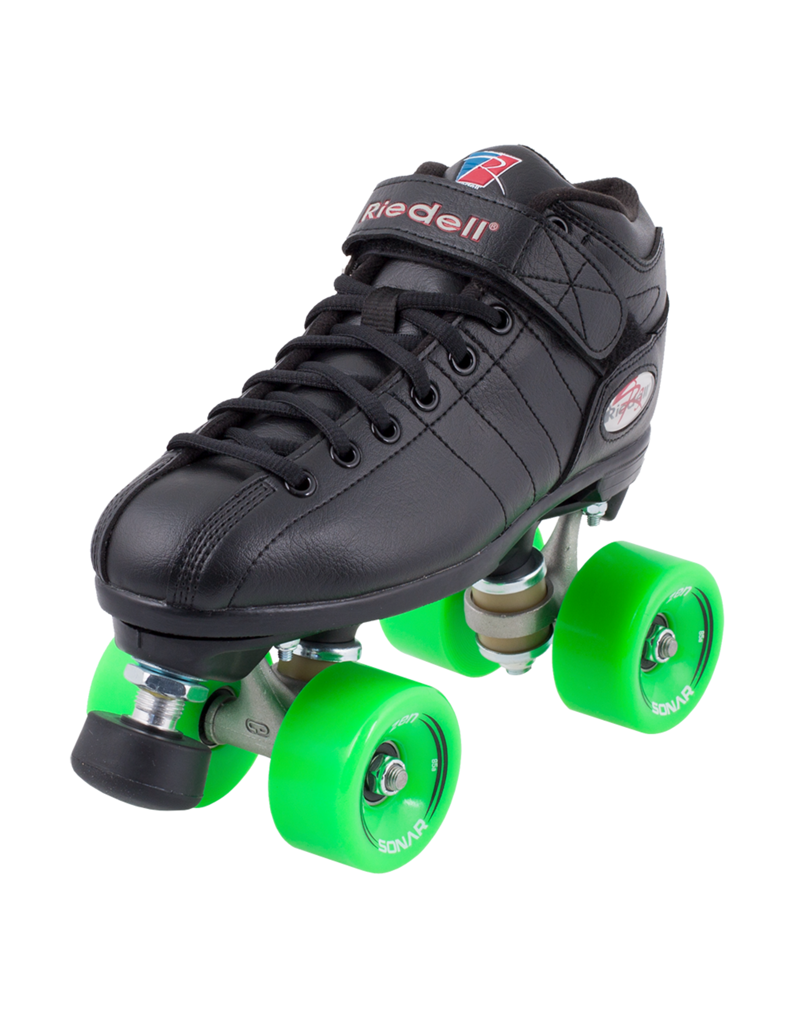 Riedell R3 Outdoor Skate, Black