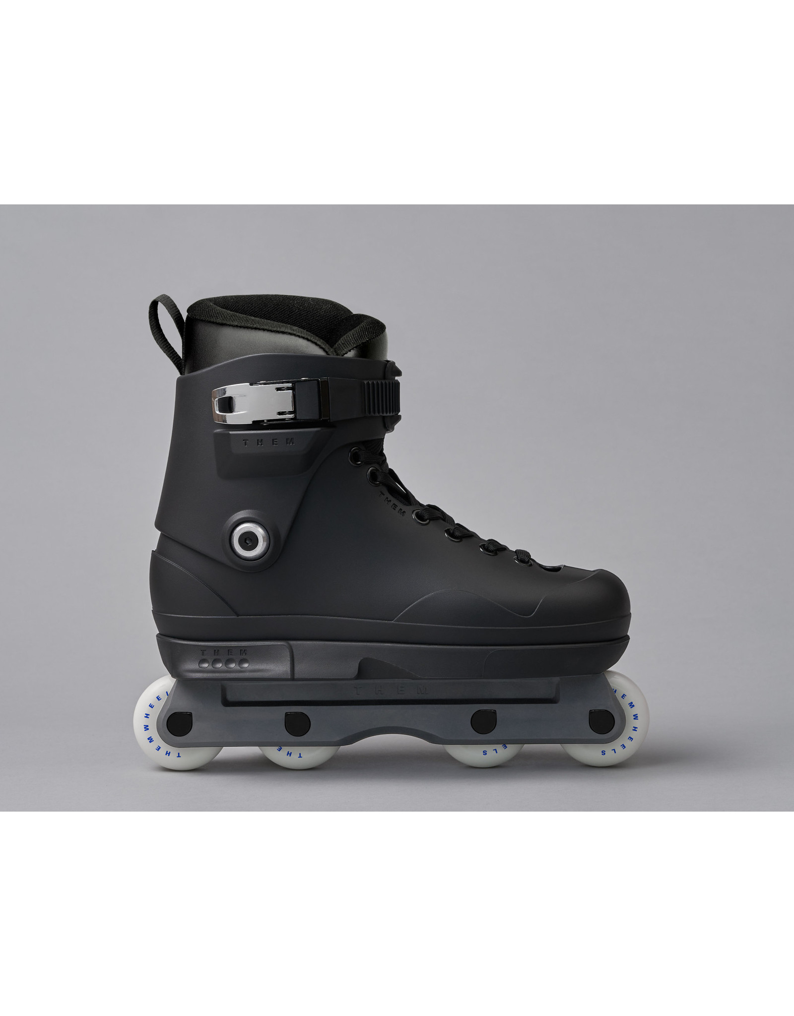 Them Them Skates 909 Black & Grey