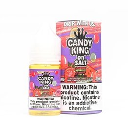 Candy King Strawberry Watermelon Bubblegum Salts By Candy King