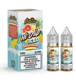 Hi-Drip Blood Orange Pineapple Iced Salts By Hi-Drip