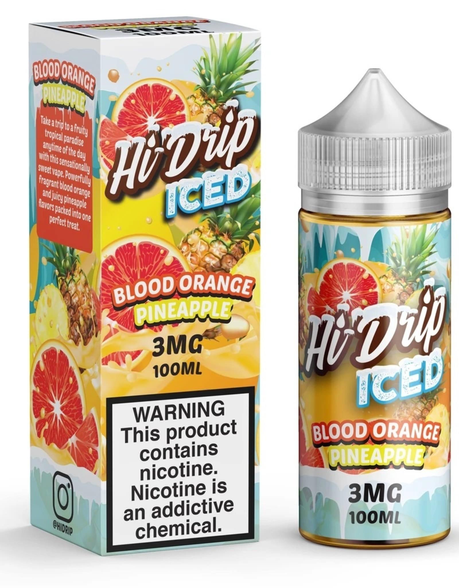 Hi-Drip Iced Blood Orange Pineapple By Hi-Drip