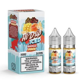 Hi-Drip Iced Peachy Mango Salts By Hi-Drip