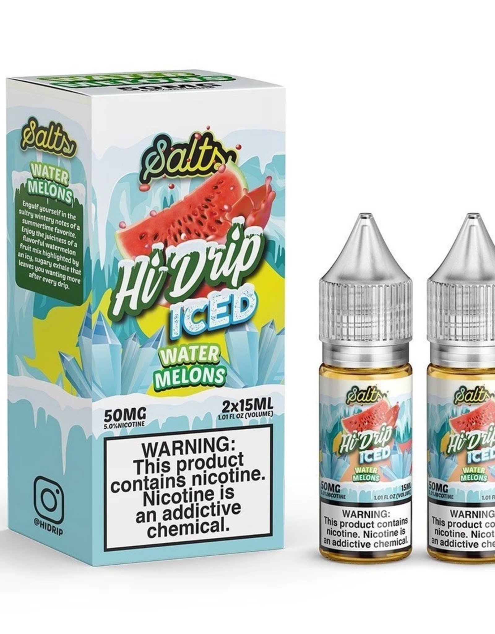 Hi-Drip Melon Patch Iced Salts By Hi-Drip