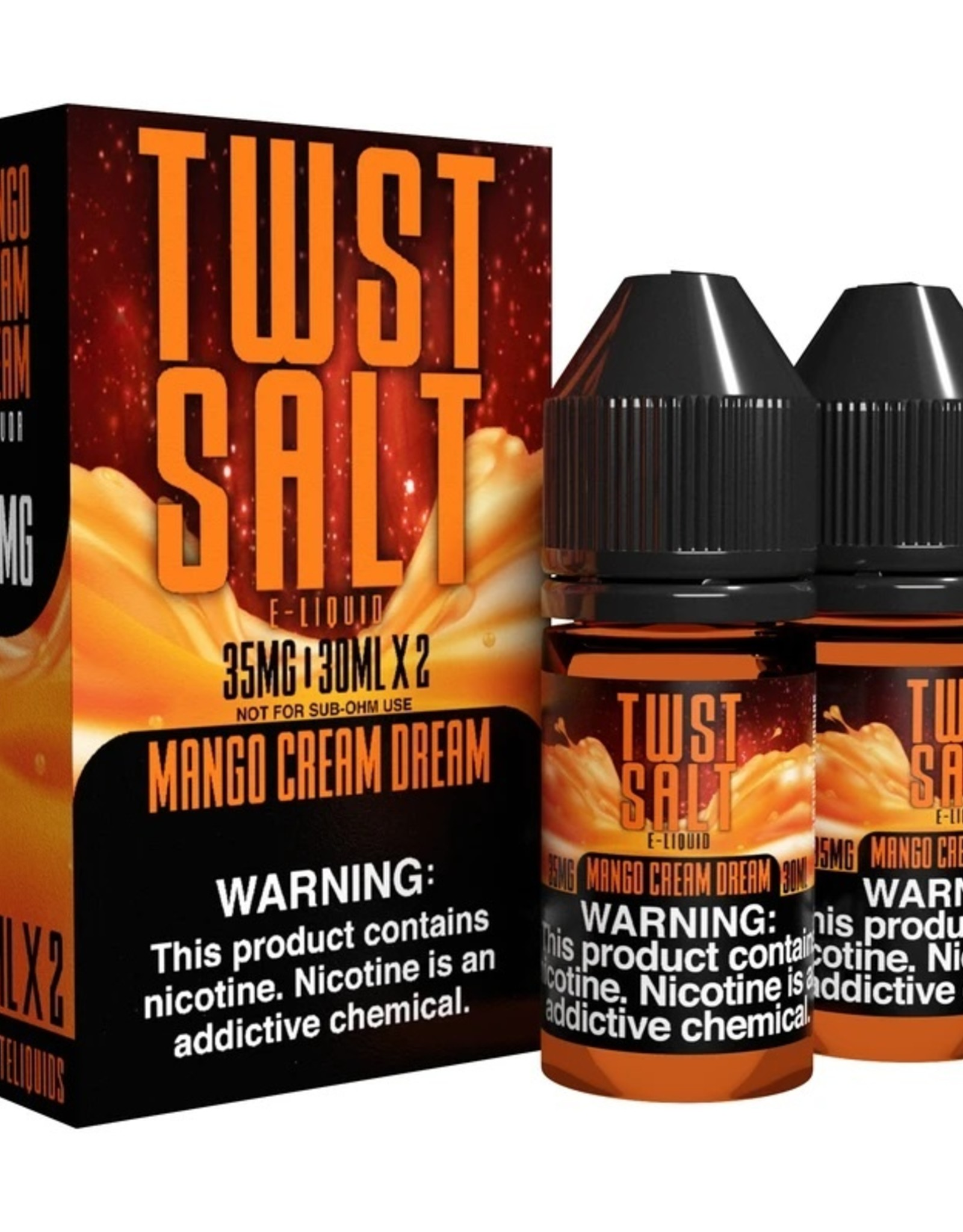 Twist Salt Mango Cream Dream Nic Salts By Twist Salts