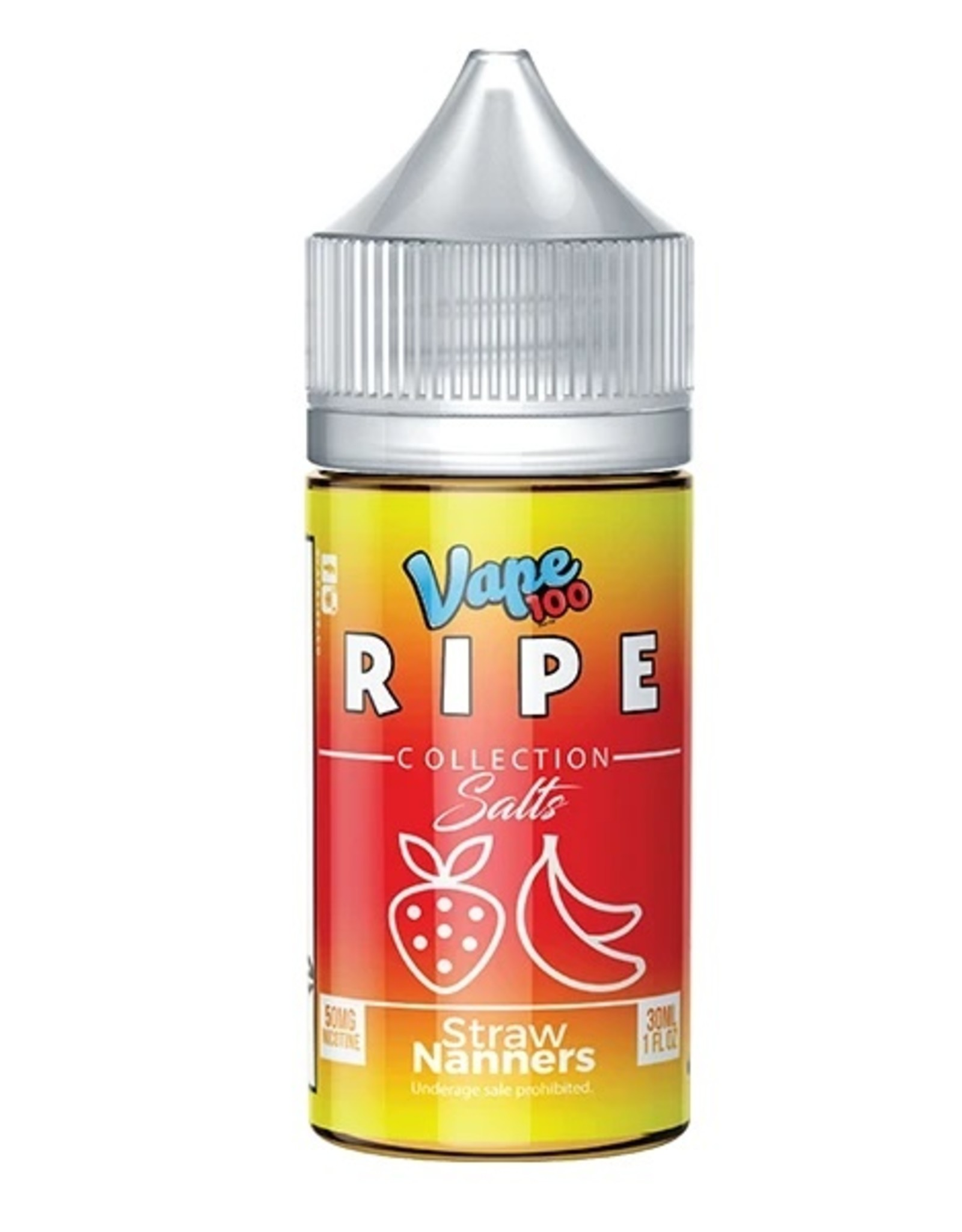 Ripe Collection Straw Nanners Salts By Ripe Collection