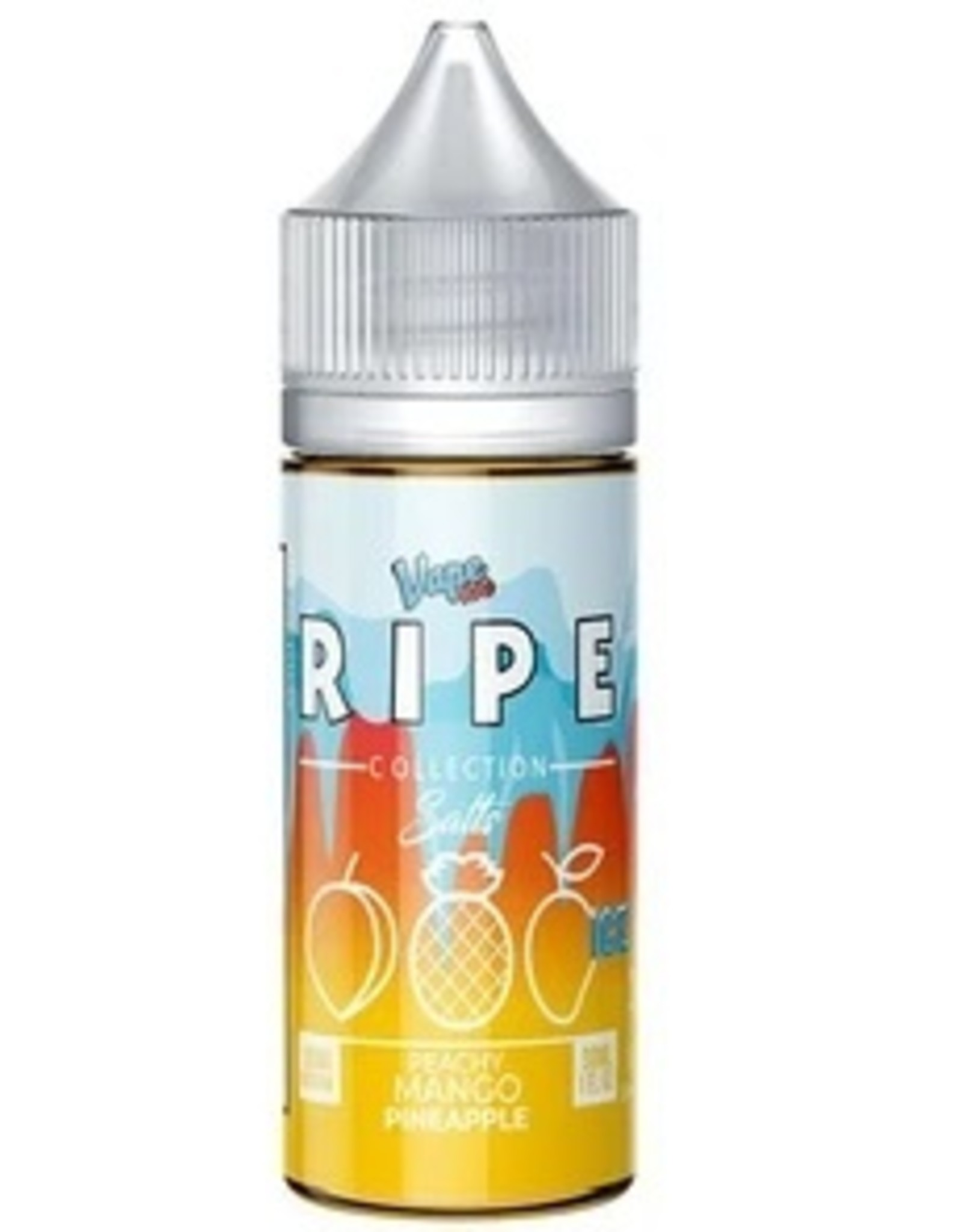 Ripe Collection Ice Peachy Mango Pineapple Iced Salts By Ripe Collection