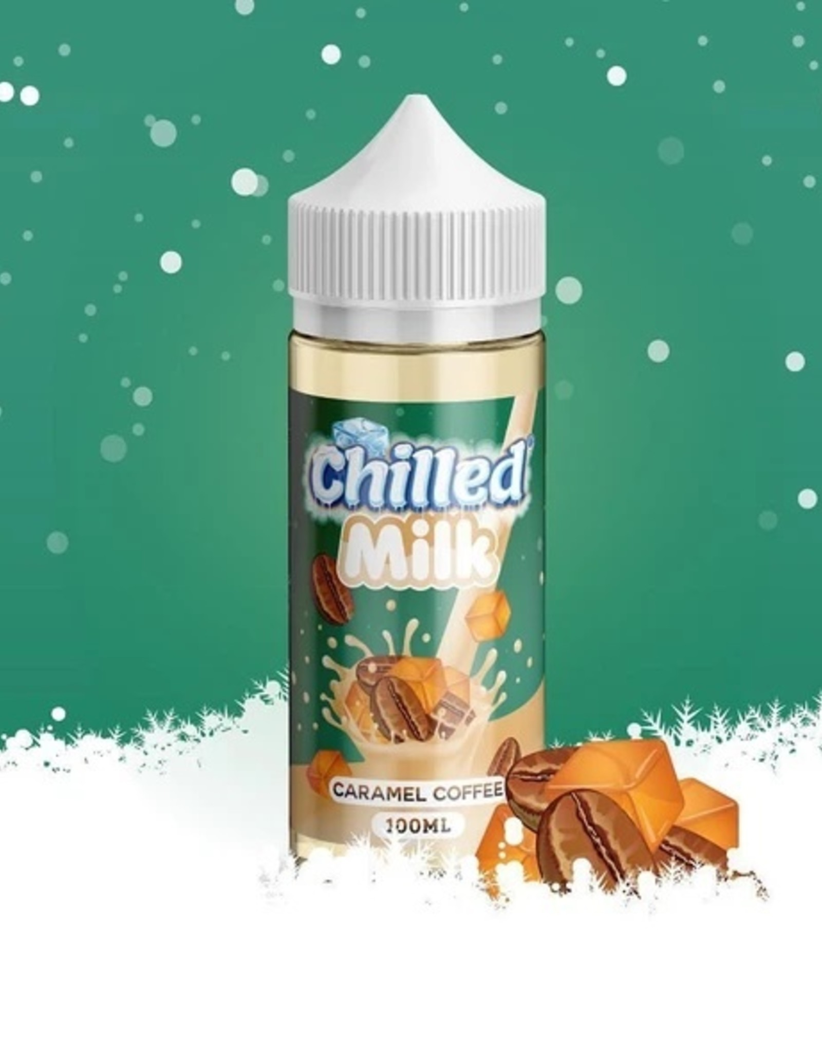 Chilled Milk Caramel Coffee By Chilled Milk