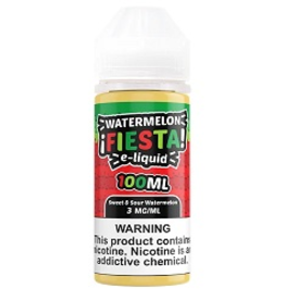 Watermelon Fiesta E-Liquid Sweet & Sour Watermelon By Watermelon Fiesta E-Liquid