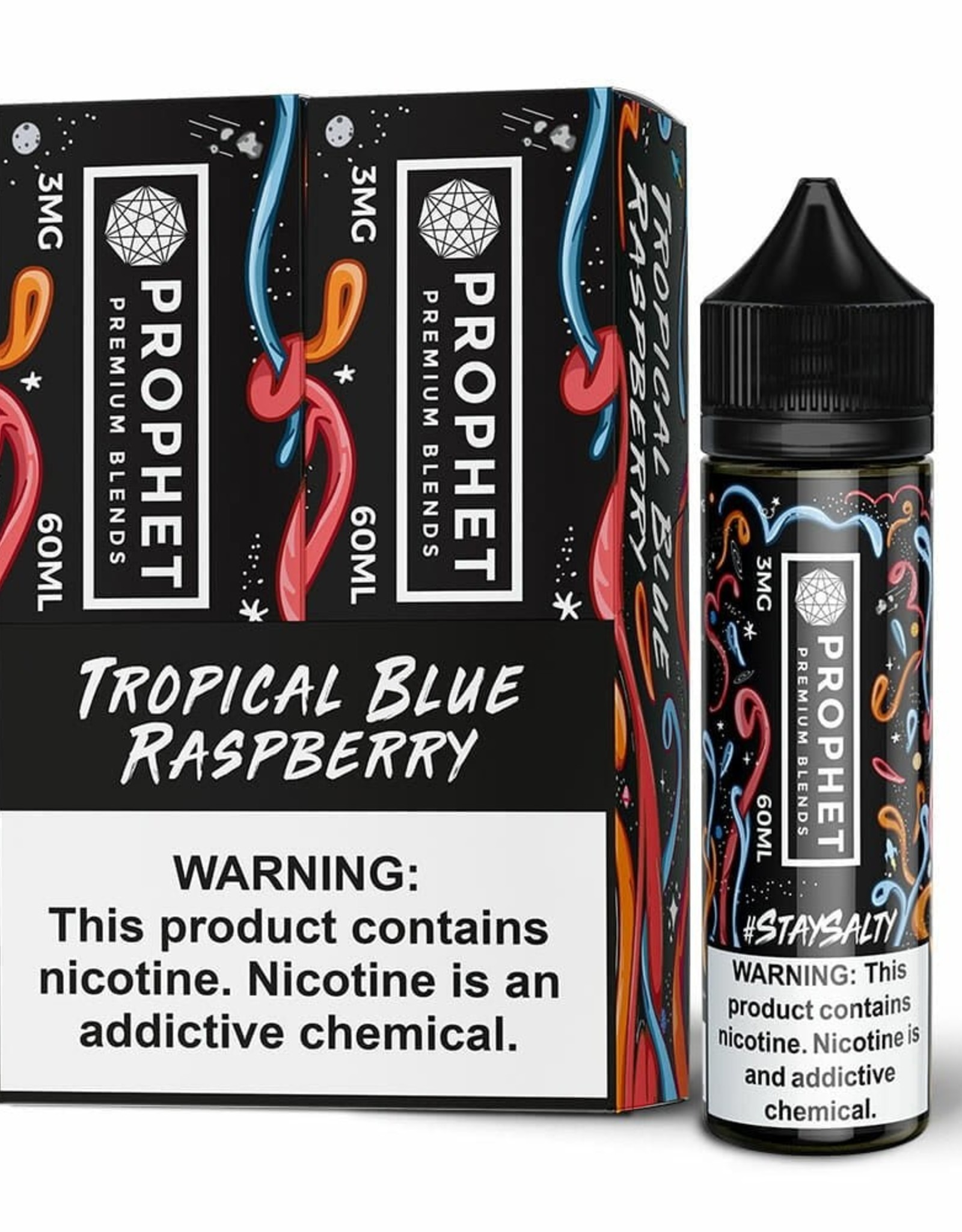 Prophet Tropical Blue Rasberry By Stay Salty