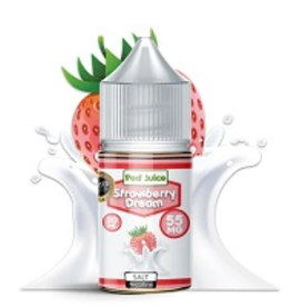 Pod Juice Strawberry Dream Salts By Pod Juice