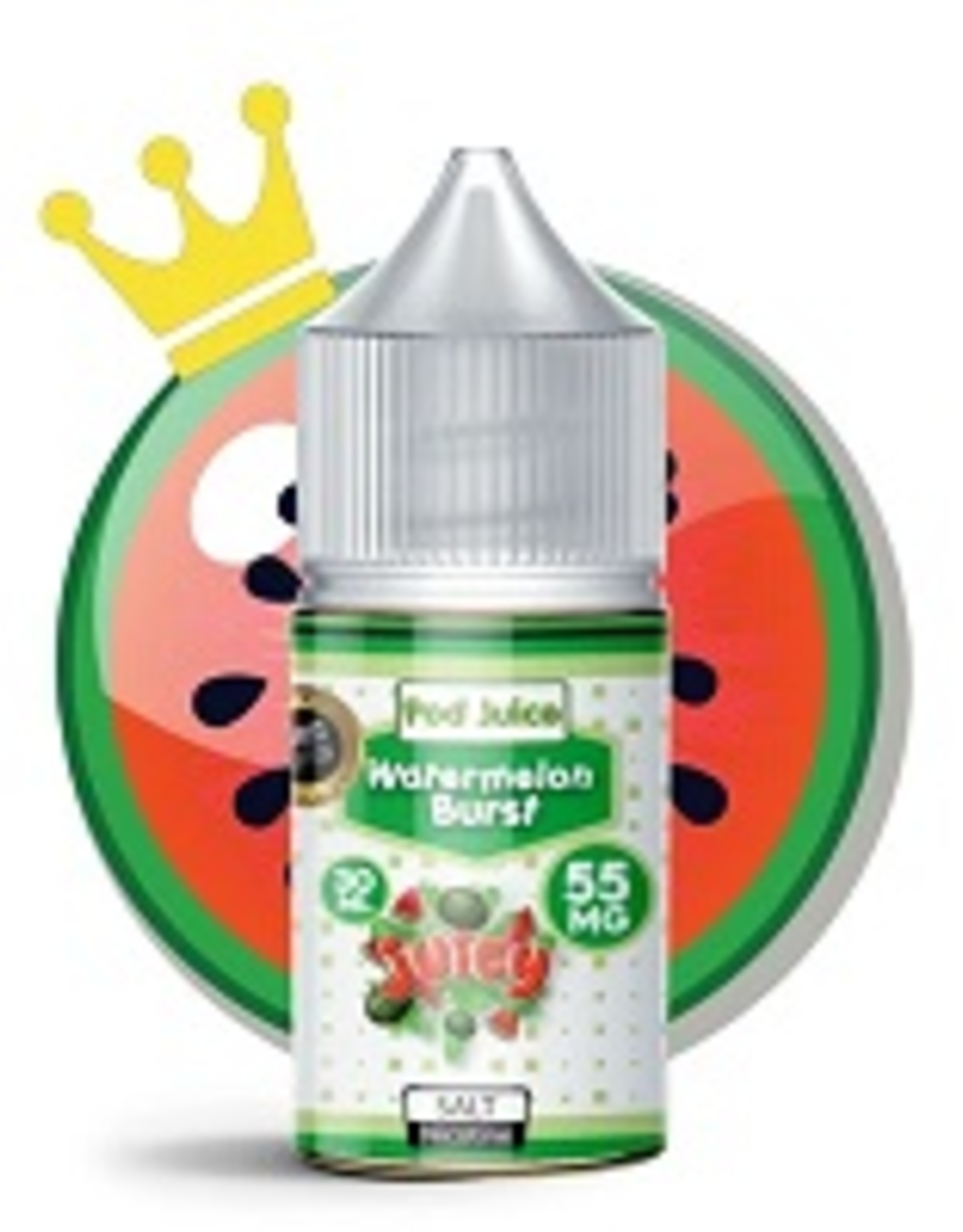 Pod Juice Watermelon Burst Salts By Pod Juice