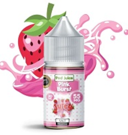 Pod Juice Pink Burst Salts By Pod Juice