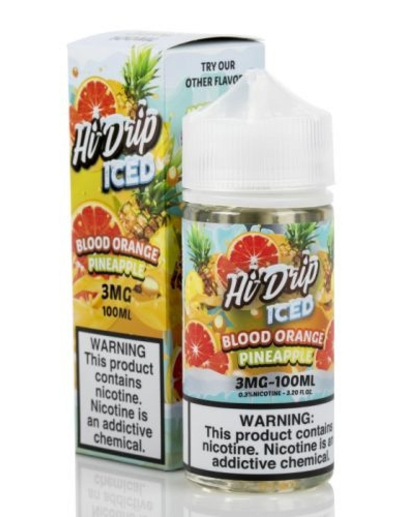 Hi-Drip Island Orange Pineapple Iced By Hi-Drip ( Blood Orange Pineapple Iced )