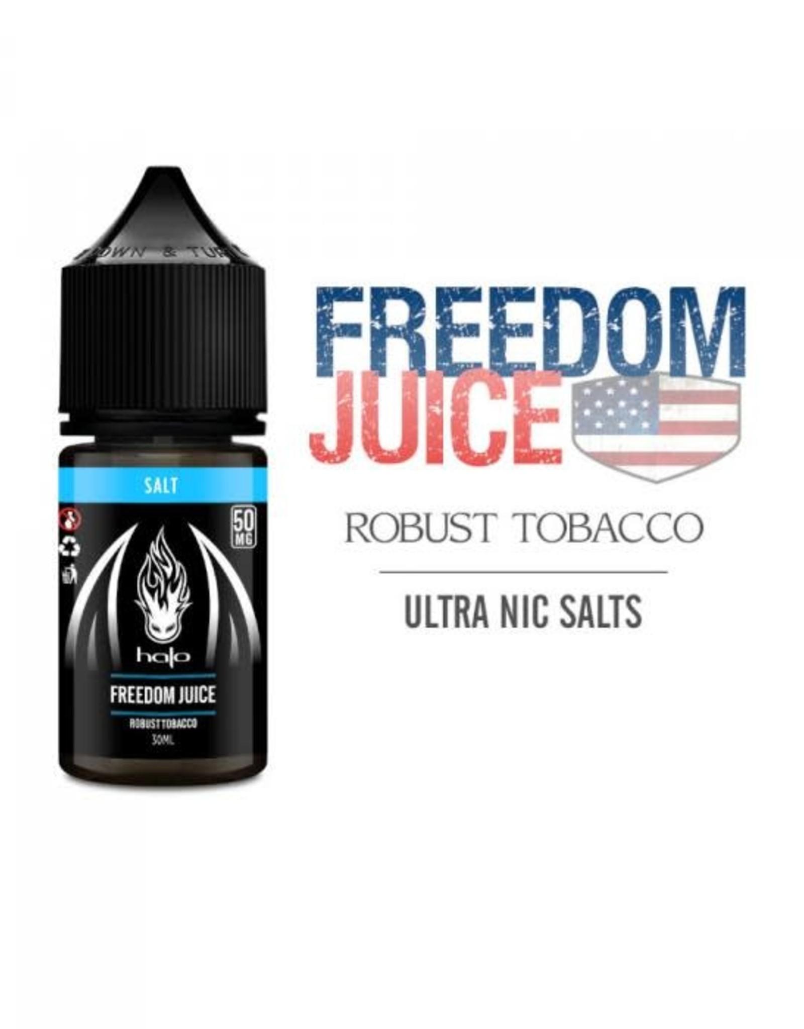 Halo Salts Freedom Juice Nic Salts By Halo