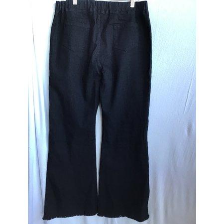 Umgee Umgee wide leg elastic waist jeans