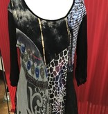 Variations Multi color lace Tunic w/ lining