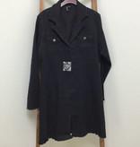 Ethyl Dark Denim long jacket