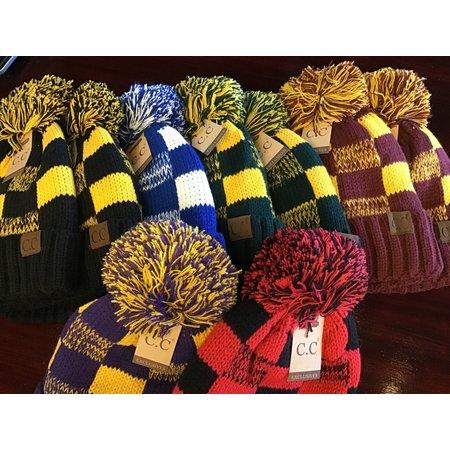 C.C. Exclusive School color stocking hats