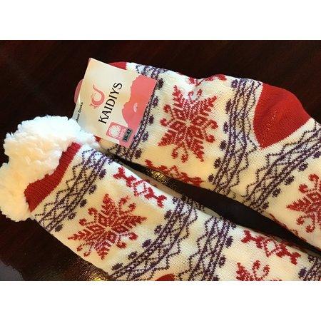 Princess Fuzzy warm indoor socks