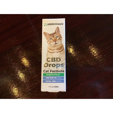 Green Roads 60MG Cat CBD Drops