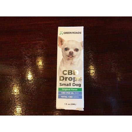 Green Roads 60MG Small Dog CBD Drops