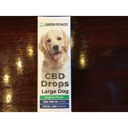 Green Roads 600MG Large Dogs CBD Drops