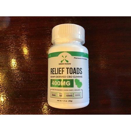 Green Roads 400MG Relax Toads Gummies