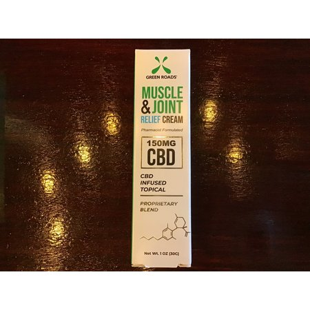 Green Roads 150MG Muscle & Joint CBD Relief Cream