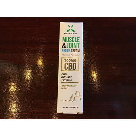 Green Roads 300MG Muscle & Joint CBD Relief Cream