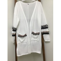 Bohemian Super Soft Open Front Sweater