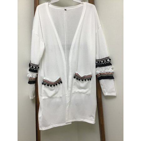 MOUNTAIN VALLEY TRADING Bohemian Super Soft Open Front Sweater