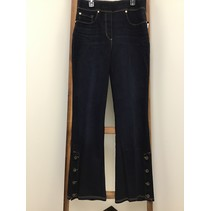 Wide Bell Jeans w/Buttons up side of bell bottom
