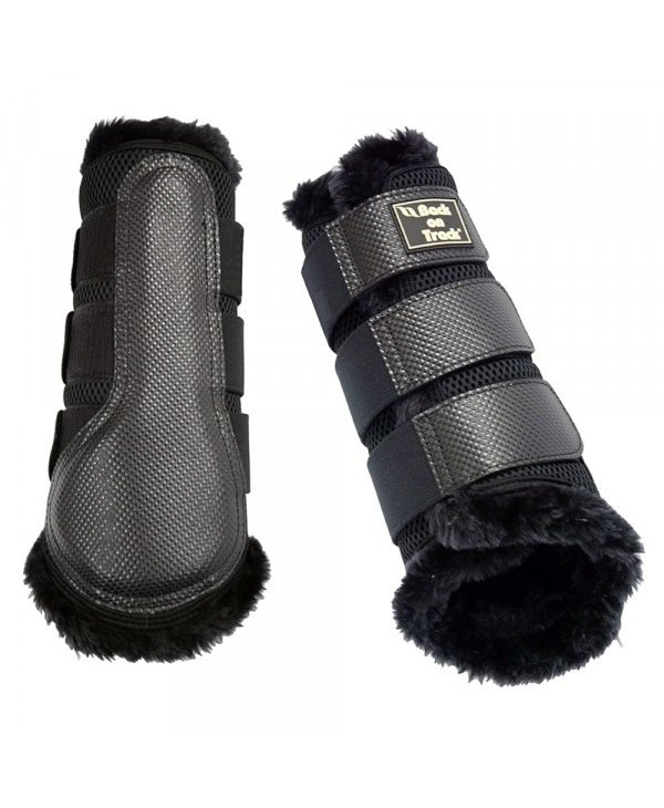 Protection avant BOT mesh fur noir M