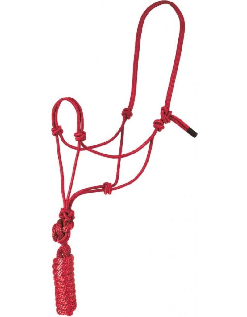 Licol de corde WR rouge