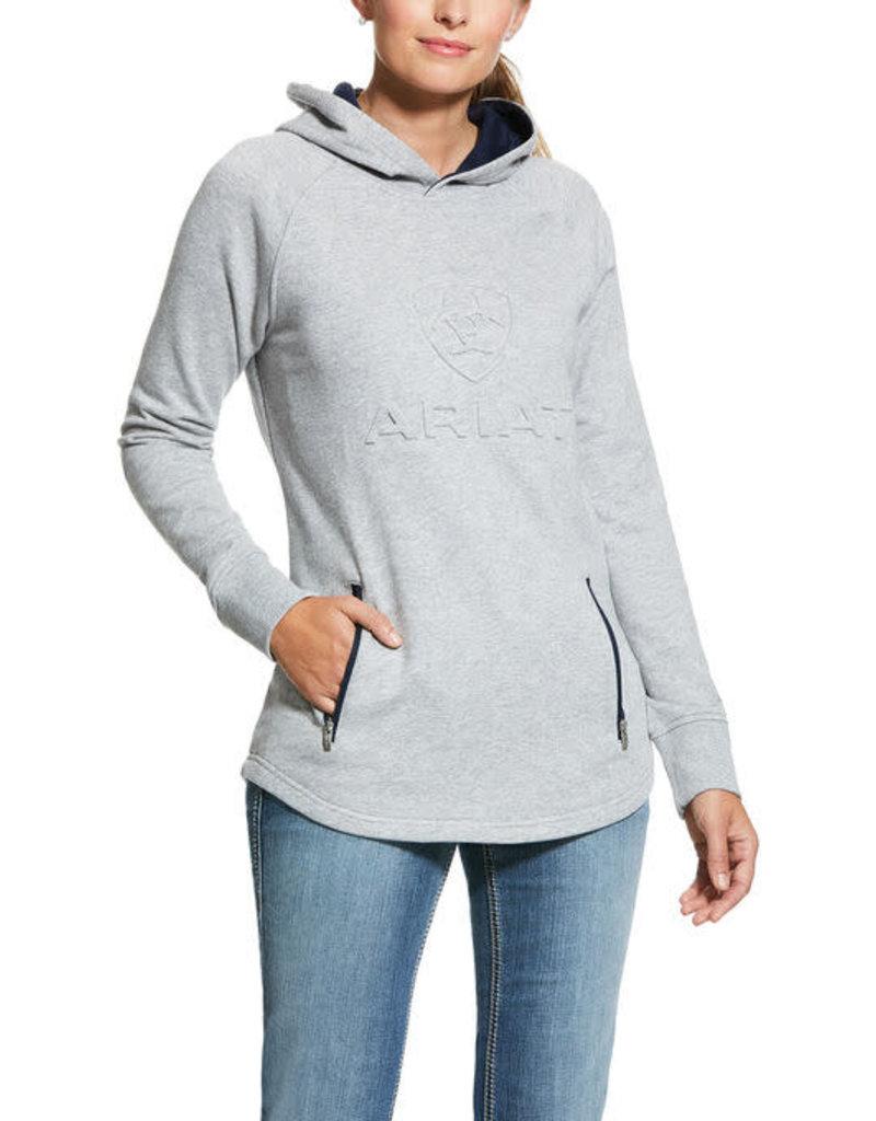 Ariat Cotton ouaté Ariat gris Logo 3D