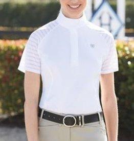 Ariat Gilet de compétition blanc Ariat