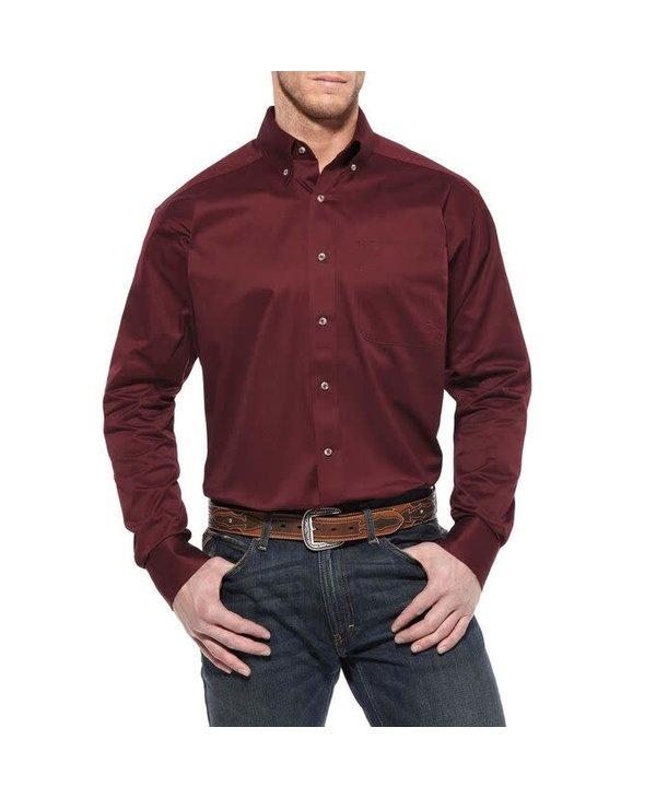 Chemise Ariat bourgogne pour homme